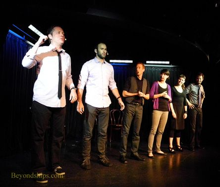 Interview with the Second City comedy troupe on Norwegian Epic http://www.beyondships2.com/norwegian-epic-second-city.html