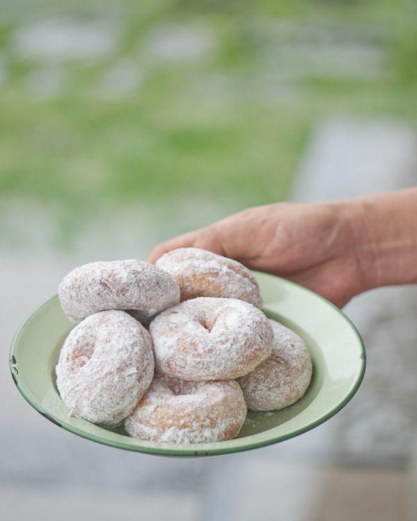 Donat kampung Indonesian Donat with sugar