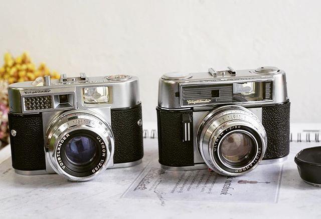 WEBSTA @ skcms21 - Love Two ULTRON#camera #vintagecamera #voigtlander#ultron#filmcamera #filmcamerasinternational#클래식카메라 #빈티지카메라