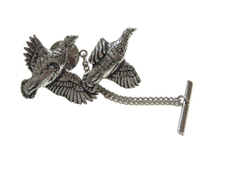 Partridge Bird Tie Tack