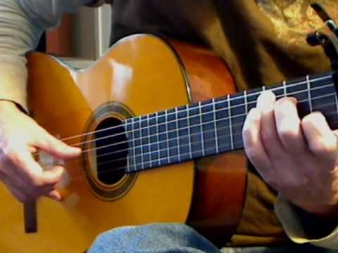 fingerpicking pattern...supposedly life changing.  https://www.youtube.com/watch?v=cj4SBVqsPIo