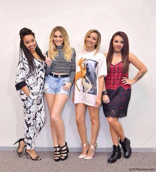 Little Mix! I love Perrie's outfit here.  Xx Mandi