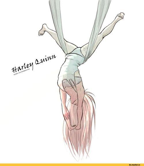 Harley Quinn • Concept Art// color sleeve https://es.pinterest.com/kunstler9/harley-puddin/