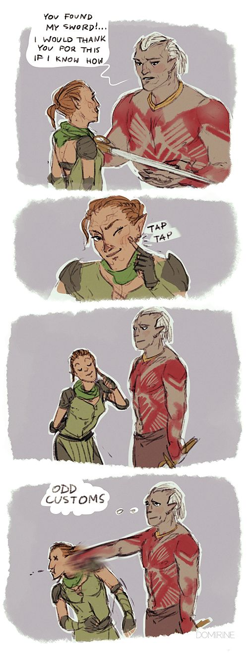 oh sten by domirine on deviantART #DragonAge
