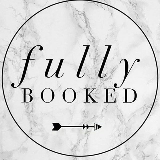 We are fully booked this Monday! Dont forget to book your appointments in  as we are getting fully booked almost everyday until Christmas.