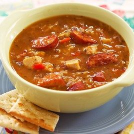New Orleans Chicken and Sausage Soup image