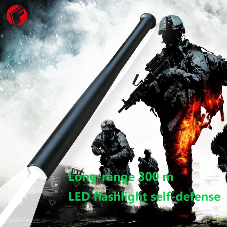 LED Tactical Flashlight CREE T6 light Self Defense outdoor lighting Security patrols Explore