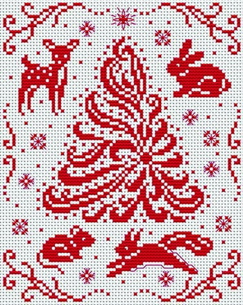 Cross Stitchers Club - Cross Stitch Pattern