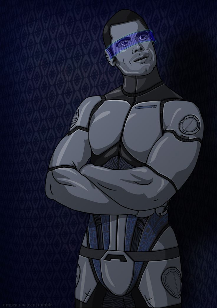 drapeau-bateau.tumblr: Imagine KAIDAN = Knowledgeable Artificial Intelligence, Defense and Advisory Node - fanart
