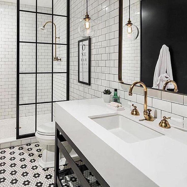 Le carrelage hexagonal de salle de bain, c\u0027est tendance ! Bathroom