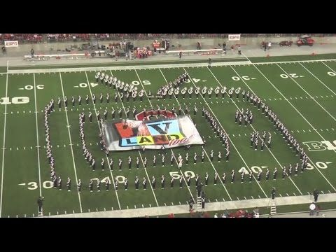 This past weekend at the Ohio State vs Virginia Tech game, Ohio State's marching band gave an incredible performance. | Ohio State's Marching Band Did A Tribute To TV And It Was Epic