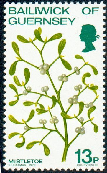 Guernsey: Mistletoe Christmas - (Visco de Natal) 1978