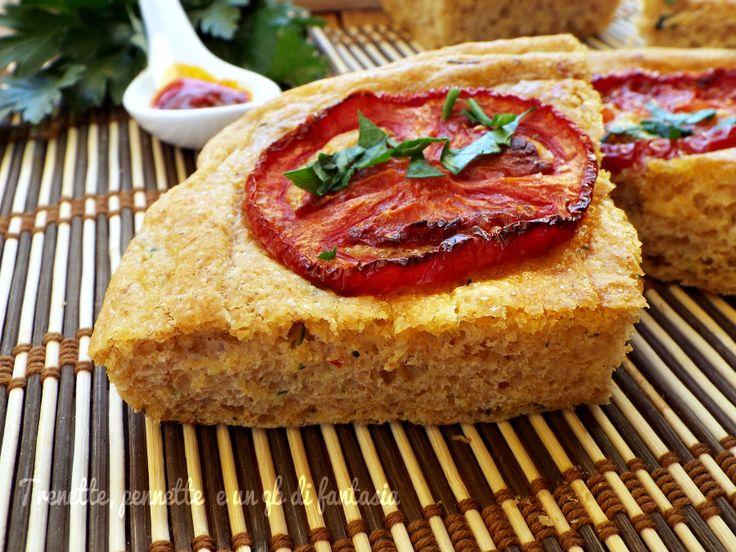 Focaccia+brioche+con+zucchina+nduja+e+pomodoro+caramellato