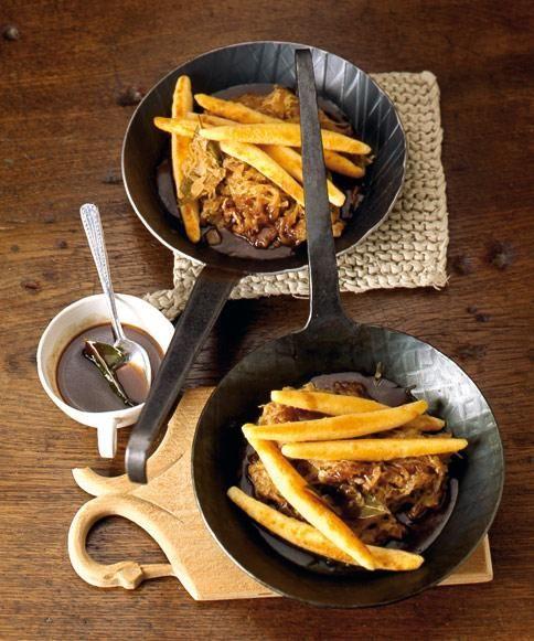 Rezept: Schupfnudeln mit Sauerkraut