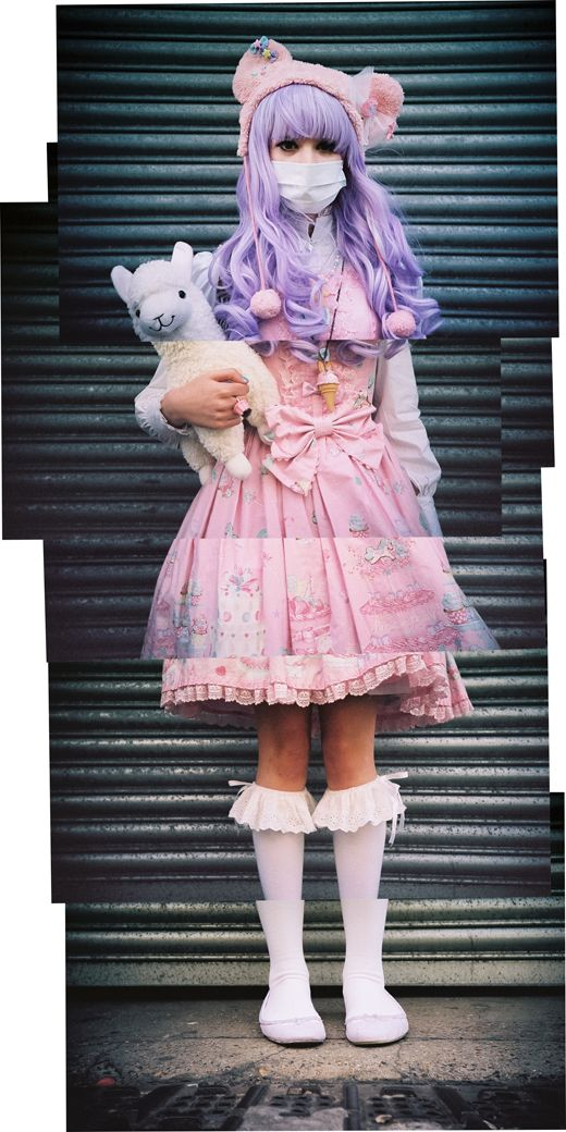 Harajuku style so in love with this outfit ^^
