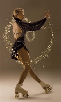 Tanja Romano; Artistic Roller Skating, Artistic roller skating inspirations for Sk8 Gr8 Designs