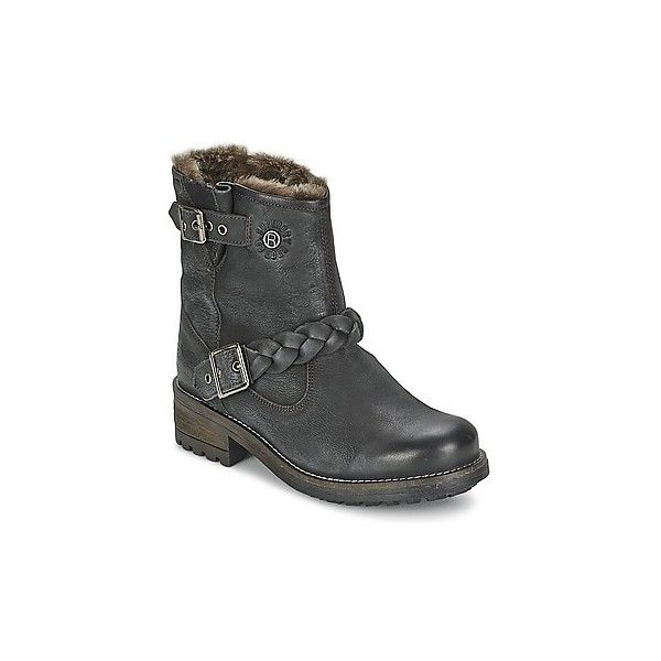Superdry HURBIS Mid Boots (€115) ❤ liked on Polyvore featuring shoes, boots, black, black rubber shoes, rubber boots, superdry boots, black boots and superdry shoes