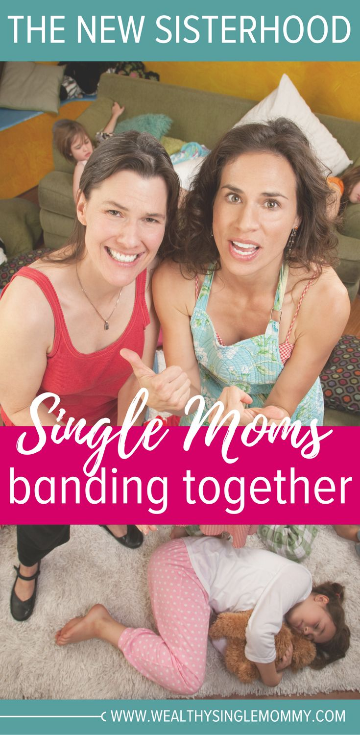 The new sisterhood, single moms banding together to support each other. Looking for your single mom tribe? Join the single mom society! Single mom parenting tips.  via @johnsonemma
