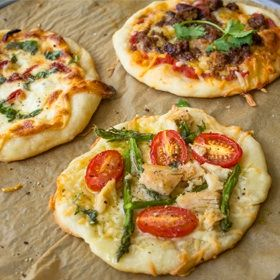 Start any meal off right with a no-fail basic pizza dough. Soft and slightly sweet, this simple homemade pizza dough is perfect--rolled thin and cooked until crispy, or rolled thick and baked until chewy.