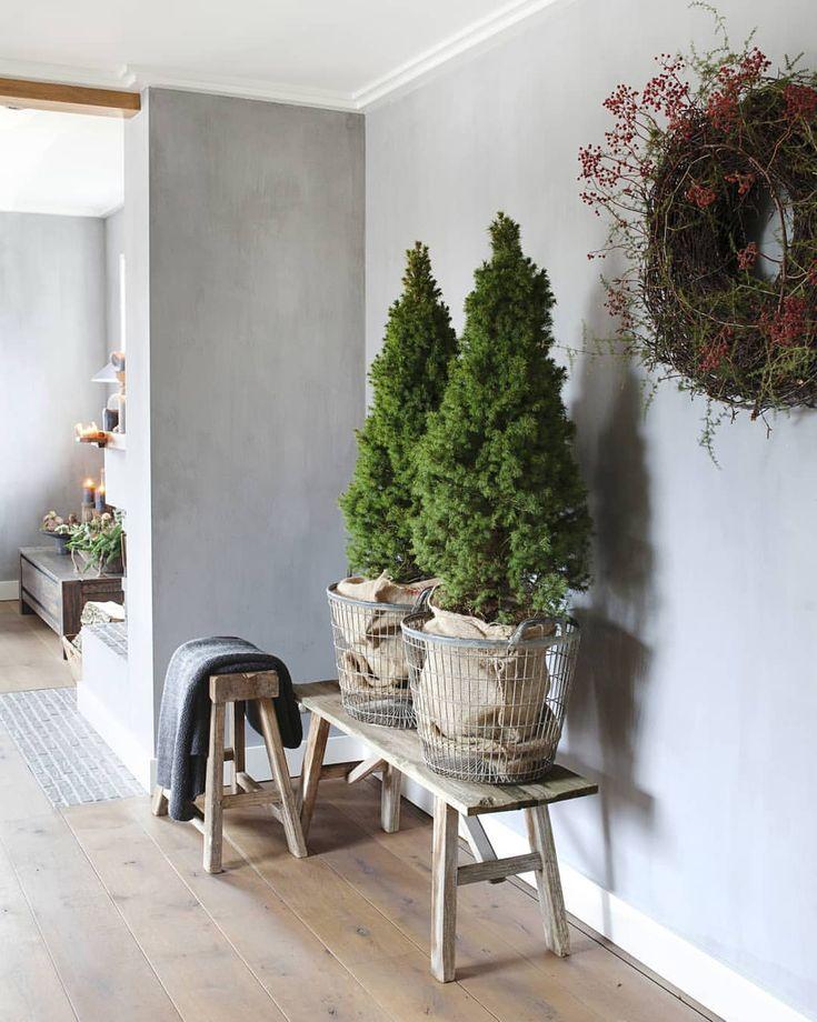 Weihnachtsbäume neutral #Weihnachtsdekoration #kersttrends #Weihnachten #decoration #ide #jul #weihnachten #weihnachtsdeko # decorationdenoël # Świątecznedekoracje # Ideen