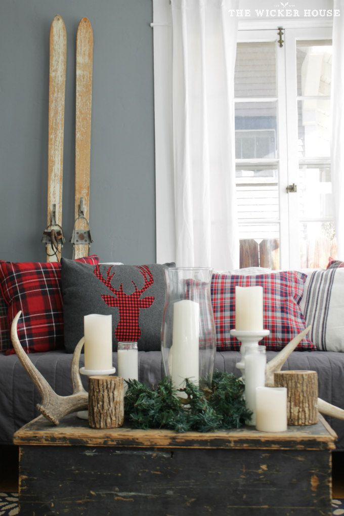 best 25 plaid decor ideas on pinterest buffalo plaid fabric diy christmas centerpieces and. Black Bedroom Furniture Sets. Home Design Ideas