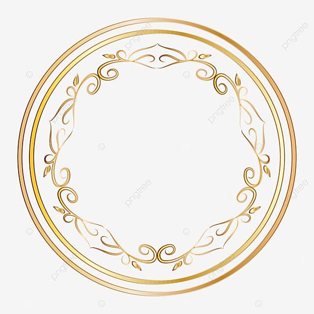 Desenho De Moldura De Circulo Dourado Circulo Projeto Ouro Imagem Png E Vetor Para Download Gratuito Moldura Desenho Vetores Circulo De Ouro