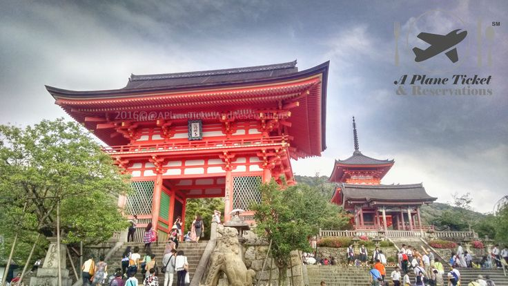 Kyotos Iconic Kiyomizu-Dera Temple #APlaneTicketAndReservations #Travel #Foodie #Wanderlust #Blog
