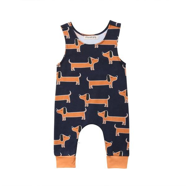 UK Cartoon Newborn Baby Boys Alligator One-piece Romper Jumpsuit Outfits Clothes