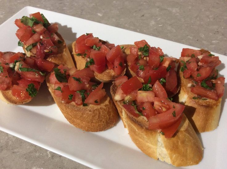 Simple Bruschetta with Sacha Inchi Oil and the goodness of Omega 3,6,9