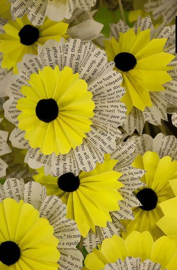 paper flowers will never get old (HAH!, I meant that figuratively, but....)