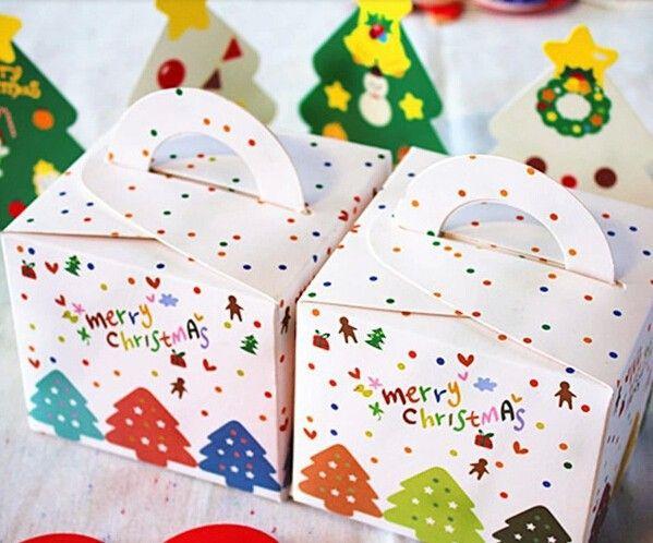 Прекрасный мульти деревья с рождеством христовым коробка печенья десерт колобок торт коробки конфеты в пакет декоративные материалы, принадлежащий категории Новогодние декорации и относящийся к Для дома и сада на сайте AliExpress.com | Alibaba Group