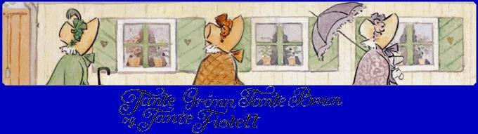 Tante Grønn, Tante Brun og Tante Fiolett - Christins mimreside - Barne TV