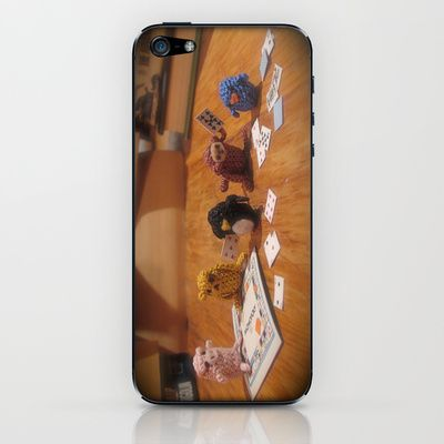 Critter Cards iPhone & iPod Skin by Alexandria Gold - $15.00
