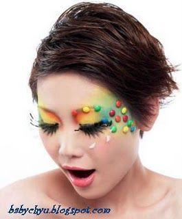 Candy Halloween makeup