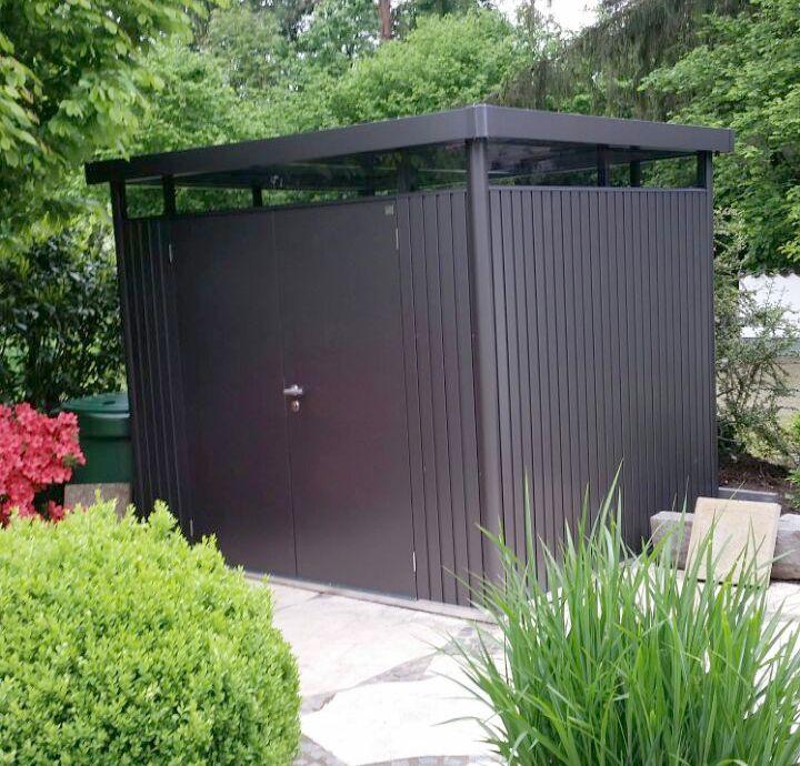 Metallgerätehaus, Gartenhütte, Geräteschuppen & Gartenschuppen Metall - Biohort