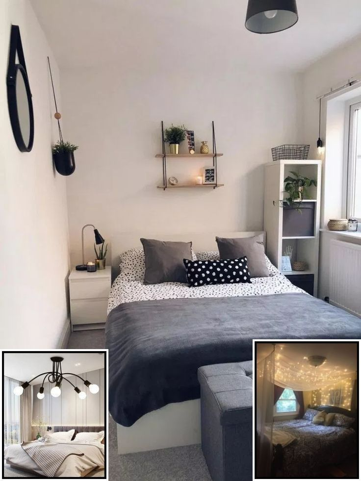 Xmas Bedroom Ideas With Lights In 2020 Small Bedroom Ideas For Couples Small Bedroom Decor Bedroom Decor For Couples