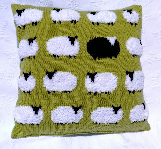 Ravelry: Flock of Sheep pattern by Denny Gould #knit