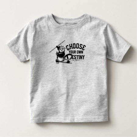 Po Ping - Choose Your Own Destiny Toddler T-shirt - click to get yours right now!