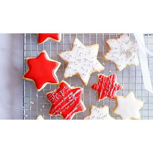 Decorated christmas cookies recipe - By Australian Women's Weekly, This is a wonderful way to get the children involved in creating some of their own Christmas gifts for family, teachers or friends. They are a cut-out cookie and the decorations you use are only limited by your imagination.