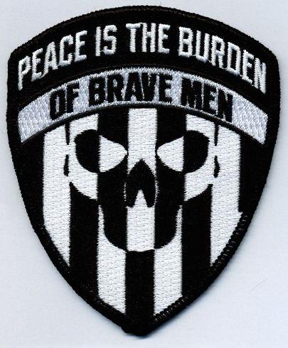 The Burden Black / White - Patch