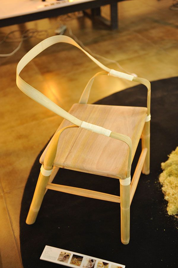 bamboo furniture design. bamboo chair on behance bamboo furniture design