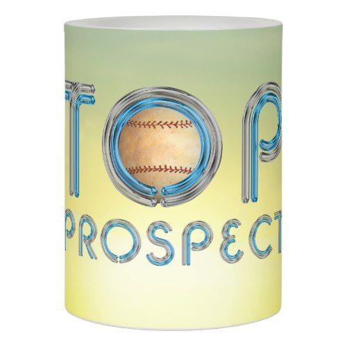 TOP Baseball Prospect Flameless Candle