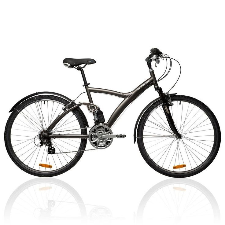 Vélo Decathlon, promo vélo Vtc Decathlon, le VTC ORIGINAL 700 tout suspendu B'TWIN prix promo Decathlon 299,95 €