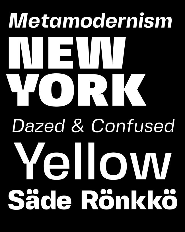 Fresh Free Font Of The Day : Fivo Sans Modern