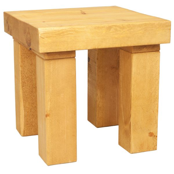 Solid Timber 3 Inch Thick Table Top Finish, Easy Assembly And With Free  Delivery To