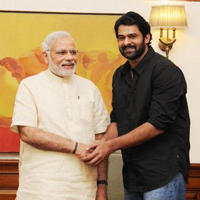 view point: When Bahubali Prabhas Met Indian PM Narendra Modi