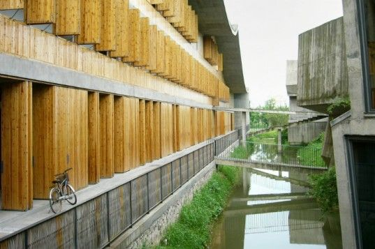 The Xiangshan School at the China Academy of Art uses traditional designArchitecture Prizes, Wang Shu, Photos Gallery, Phase Ii, Xiangshan Campus, Pritzker Prizes, Blog Design, China Academy, New Art