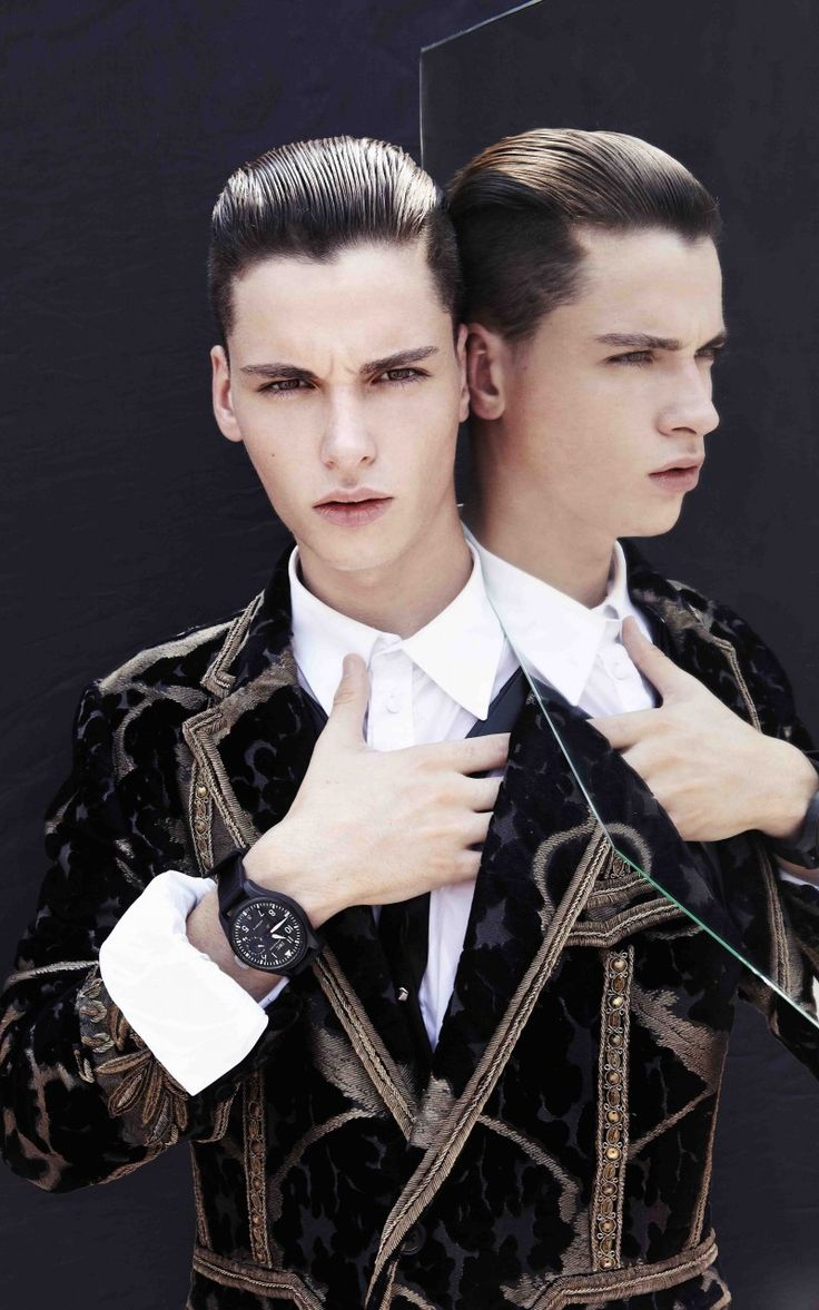 Jasper G Splits into Two for Designare Homme -   The Fashionisto: The Latest in Fashion from Runway to Print