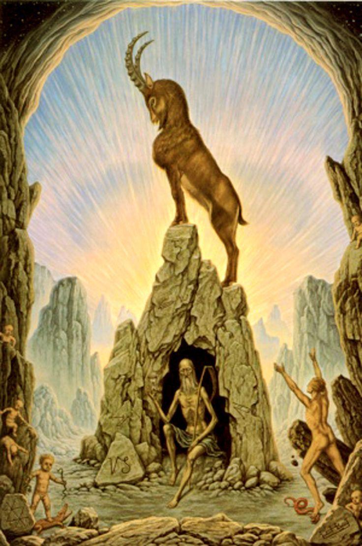 Pratica del Capricorno dal 22 Dicembre al 20 Gennaio dal libro Trattato di Astrologia Ermetica di Samael Aun Weor https://cstu.io/802797