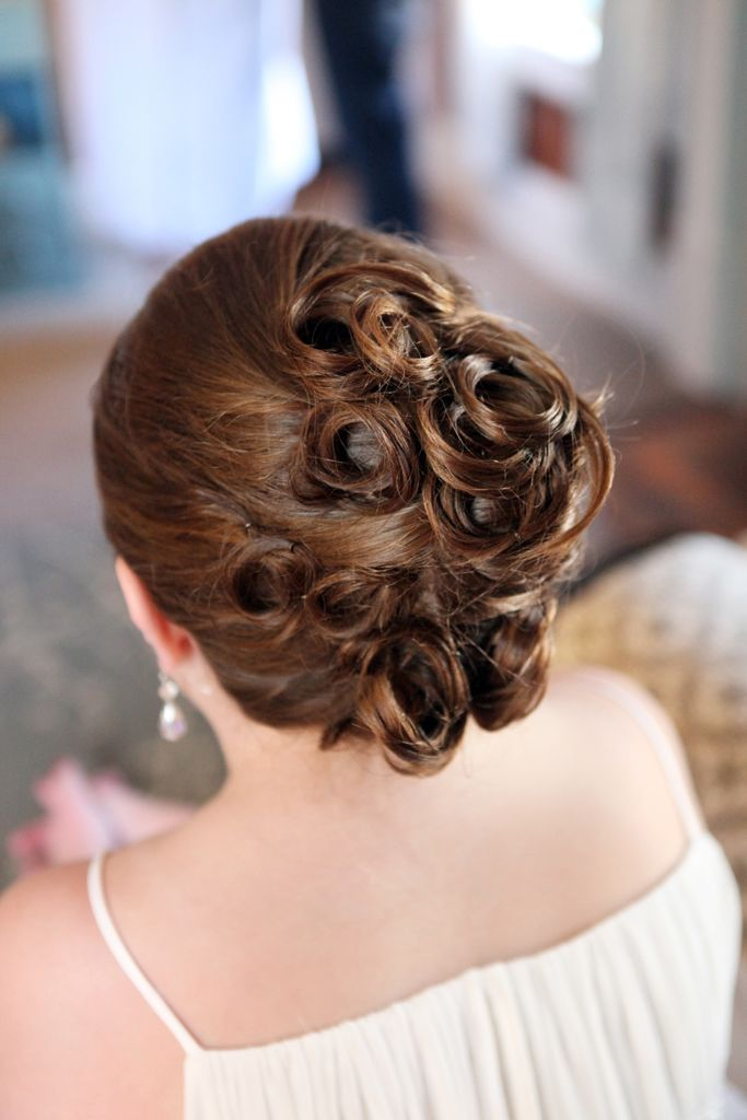 Wedding Hairstyles For Junior Bridesmaids : Junior bridesmaid hairstyle erin kranz photography